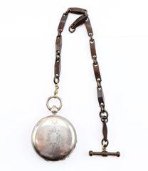 "Presentation Silver Pocket Watch of Sergeant Phimeas C. Eato ""Wilson Zouaves"" 59th Illinois Infantry"