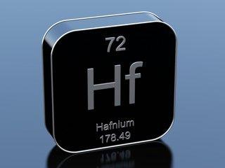 ".300"" x 1.5"" x per inch Hafnium Flat Bar"