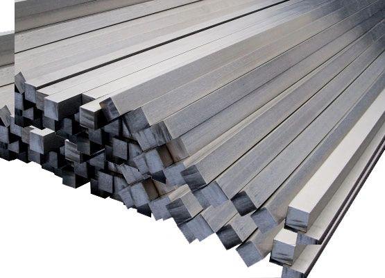 """.375"""" x .375"""" x 36"""" Gr2 Titanium Sq Bar"""