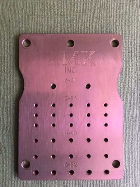 Titanium Anodizing Screw Plates