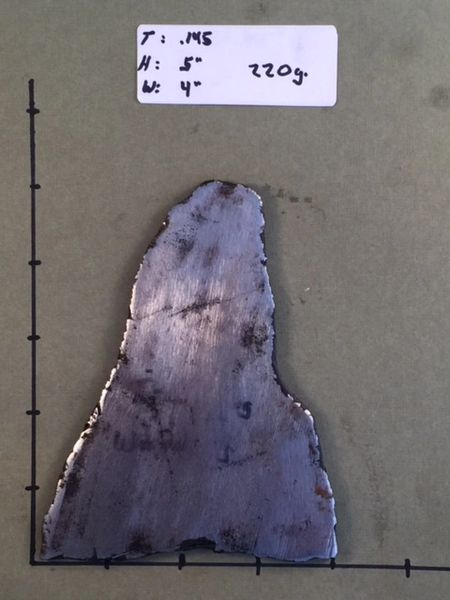 220g Muonionalusta Meteorite