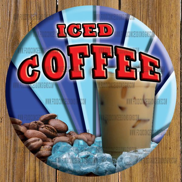 ICED COFFEE ROUND