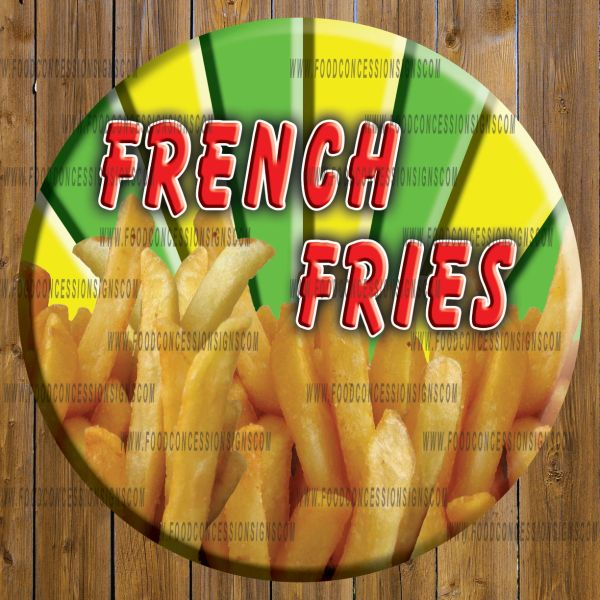 FRENCH FRIES ROUND