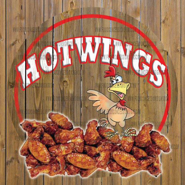 HOT WINGS ROUND