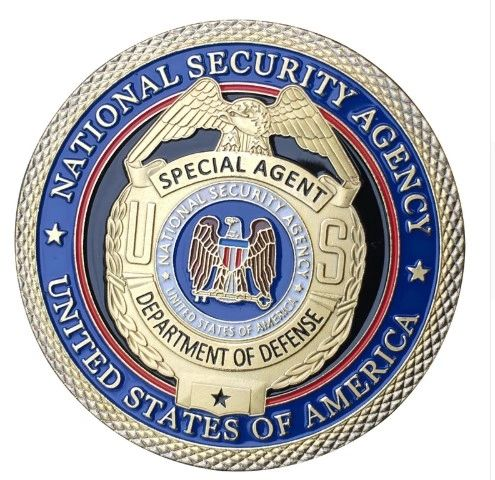 NSA-US National Security Agent BADGE Challenge Coin