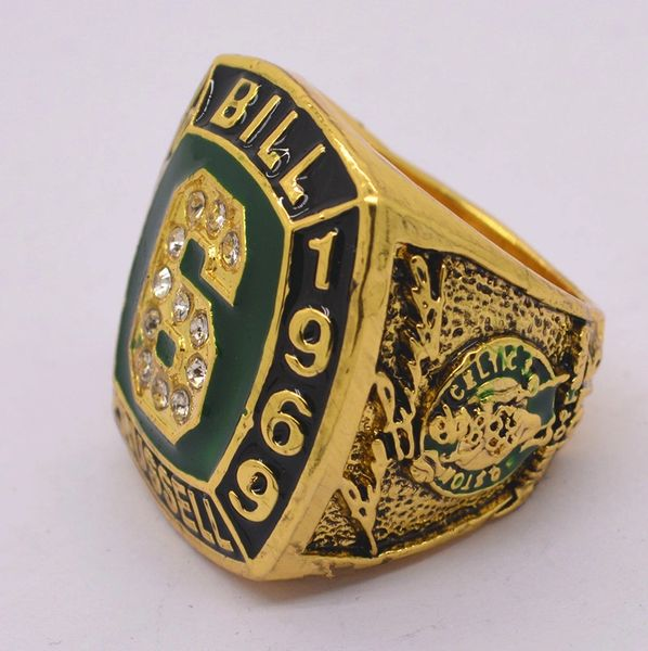 VINTAGE BILL RUSSELL BOSTON CELTICS 6 LIFETIME HALL OF FAME Ring 1978 1999