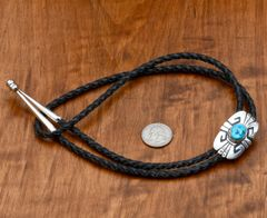 Smaller original, signed Tommy Singer bolo tie.—SOLD!