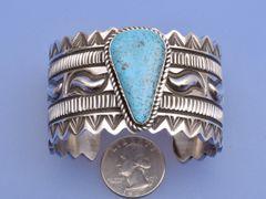 Sterling Navajo cuff by Alez Sanchez