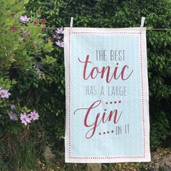 East Of India The Best Tonic Tea Towel