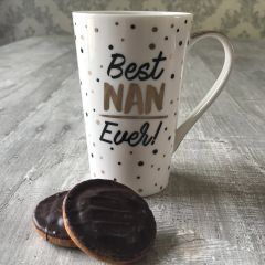Golden Spot Latte Mug - Best Nan Ever!