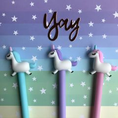 Pastel Unicorn Gel Pen