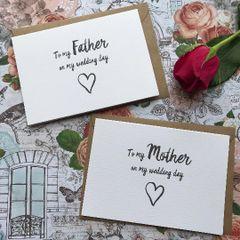 On My Wedding Day Card