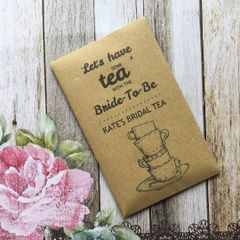 Let's Have Some Tea With The Bride To Be