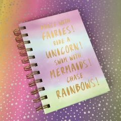 Fairies Notebook