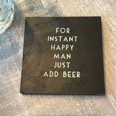 East Of India Happy Man Coaster