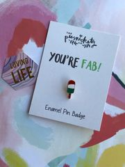 Fab Pin Badge