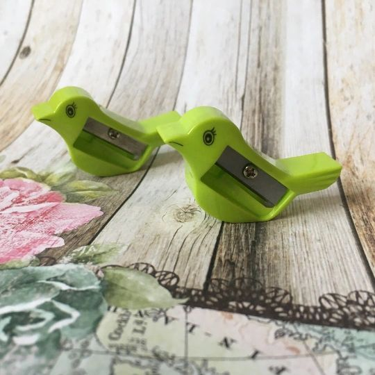 Bird Pencil Sharpener - Green