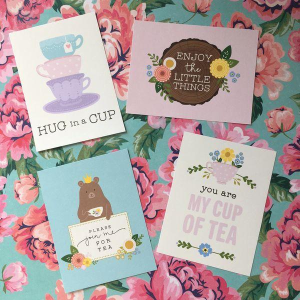 Quote Cards - TEA!