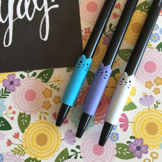 Lovely Cat Gel Pen