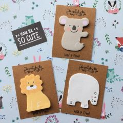 Wild Animal Sticky Note - Wild & Free!