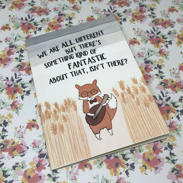 We Are All Different Card by Tessa Worley