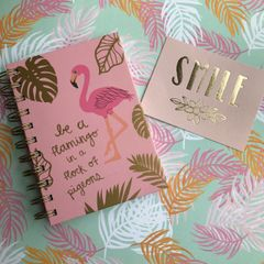 Be A Flamingo Notebook