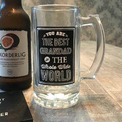 Best Grandad Pint Glass