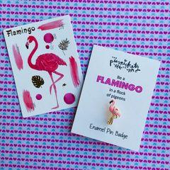 Flamingo Emanel Pin