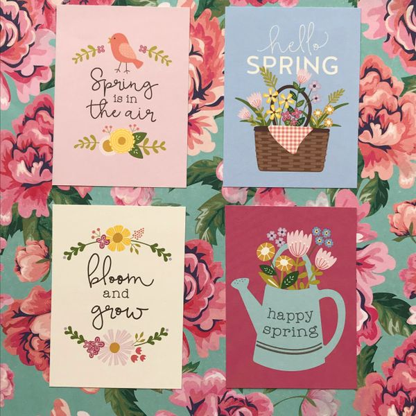 Quote Cards - Hello Spring!