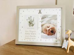 Tiny Fingers Tiny Toes Photo Frame