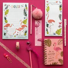 Flamingo Gift Box - Stationery Edition