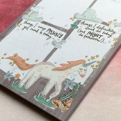 Unicorns and Rainbows A5 Notepad