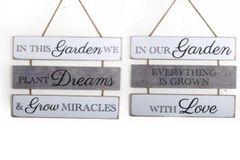 3 Tier Hanging Garden Plaque!