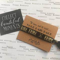 Hen Party Hair Tie / Wristband - To Have And To Hold Your Hair Back