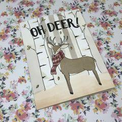 Oh Deer! Card by Tessa Worley