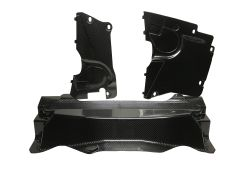 2014-Present Jaguar F-Type Carbon Fiber Engine Panel Kit
