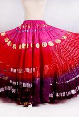 BOLLYWOOD NEW!!~Tribal Bellydance Gypsy ATS Skirt