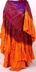 NEW!!ATS SUNRISE LUREX Tribal Bellydance Tribal ATS Gypsy Skirts