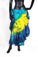 NEW!!ATS Multi MAUI WATERS Tribal Bellydance Tribal ATS Gypsy Skirts