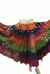 BOLLYWOOD Tribal Bellydance Gypsy ATS Skirt