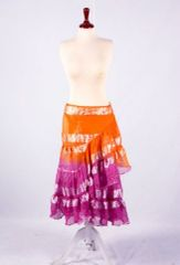 WRAP ATS®TRIBAL BELLYDANCE LUREX JAIPUR GYPSY TRIBAL WRAP SKIRT