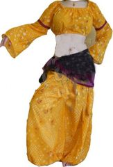 PANTALOONS JAIPUR TRIBAL BELLYDANCE GYPSY SET TRIBAL PANTALOONS