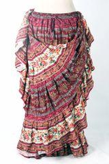 BURG PEACH LAXMI JAIPUR Tribal Bellydance Kuchi Gypsy ATS® Skirt