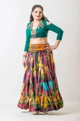 CHOLI ATS®TRIBAL BELLYDANCE GYPSY CHOLI LONG SLEEVE