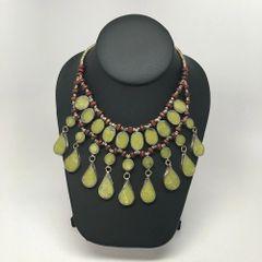 KUCHI PERIDOT Vintage Tribal BellyDance GYPSY Choker Necklace