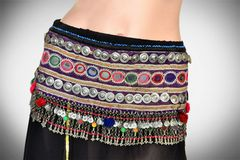 BELT VINTAGE TRIBAL KUCHI XL GYPSY ATS BELT