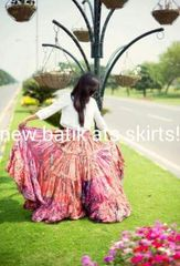 BATIKED Tribal Bellydance ATS®BATIK Gypsy 25 yard Skirt