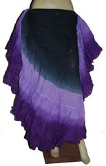 DIP DYED ATS®TRIPLE Dip-Dyed Tribal Bellydance ATS®Tribal Gypsy Skirts