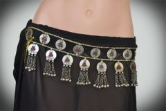 BELT VINTAGE TRIBAL KUCHI GYPSY COIN ATS BELT