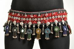 BELT VINTAGE TRIBAL KUCHI BEADED GYPSY COIN ATS BELT